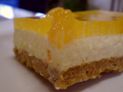 Tangelo CheesecakeSlice