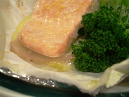 simple salmon parcel recipe